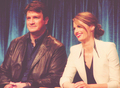 Nathan and Stana - nathan-fillion-and-stana-katic photo