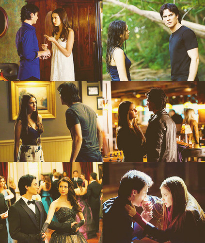 Nazanin_Damon and elena - damon-and-elena Fan Art