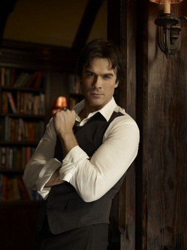 Damon Salvatore wallpaper with a business suit entitled Nazanin_Damon