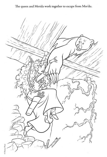 New ब्रेव Coloring Page (Spoiler)