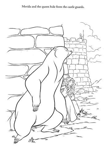 New Merida - Legende der Highlands Coloring Pages (Spoiler)