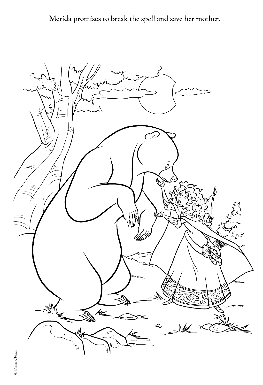 coloring pages com | New Brave Coloring Pages (Spoiler) - Brave Photo (31465898 ...
