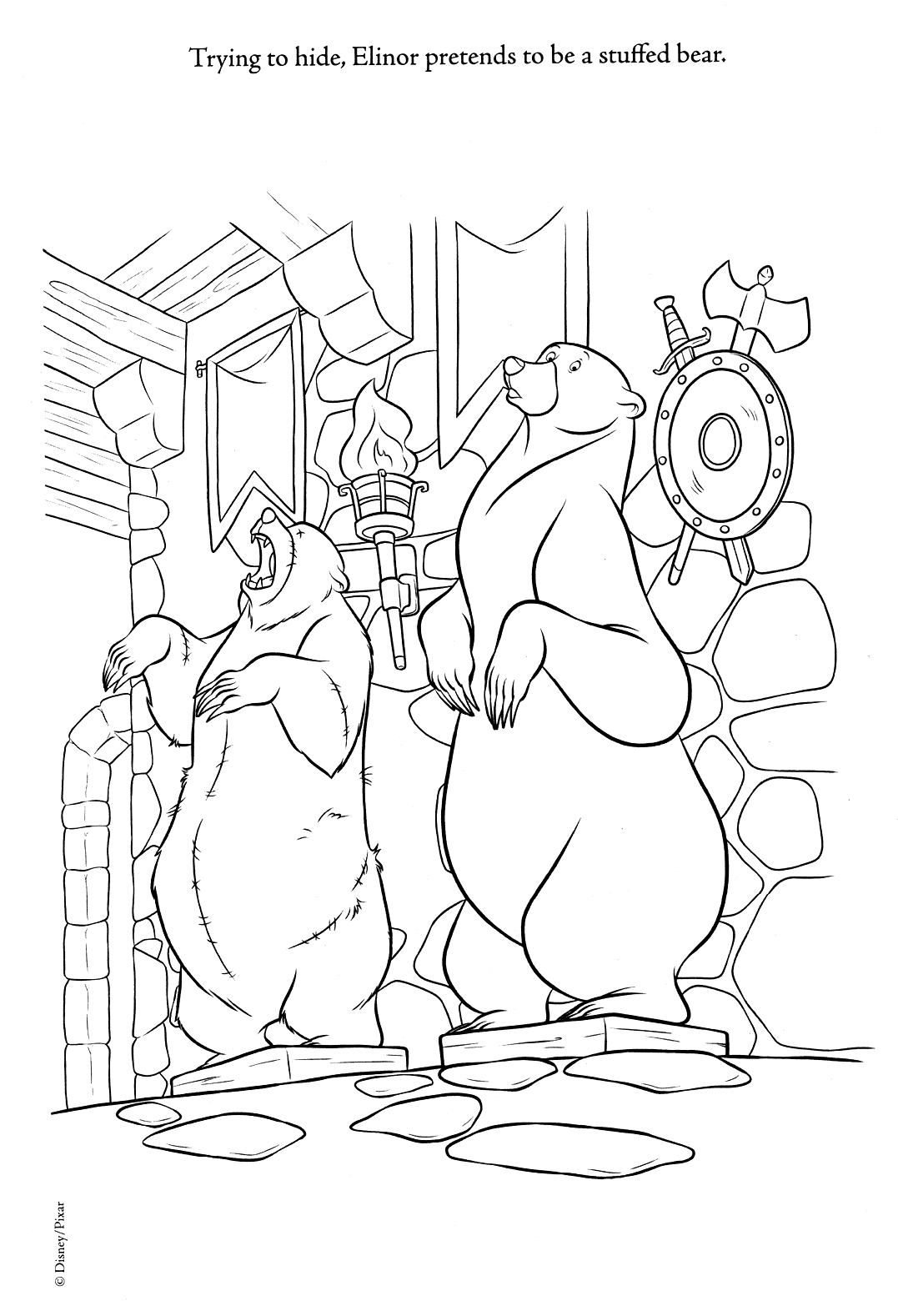 New Ribelle - The Brave Coloring Pages (Spoiler)