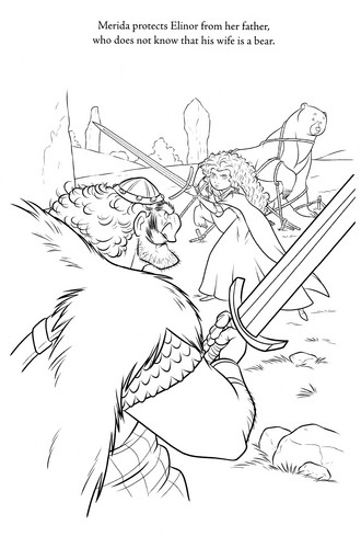 New Brave Coloring Pages (Spoiler) - brave Photo