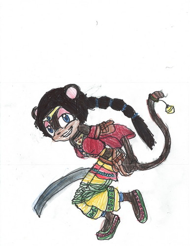 New OC-Najia,the Monkey