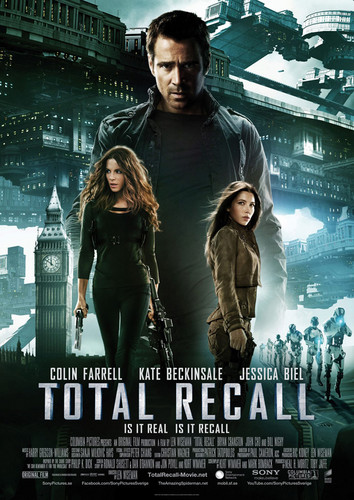 New Total Recall International Poster