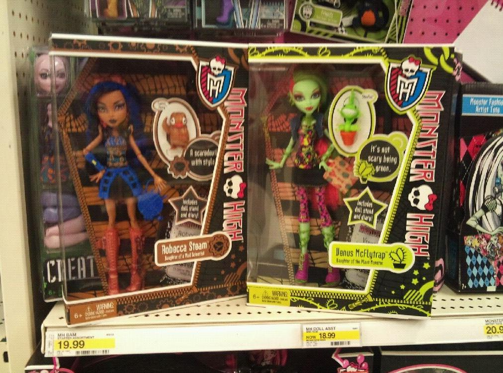 New monster high items
