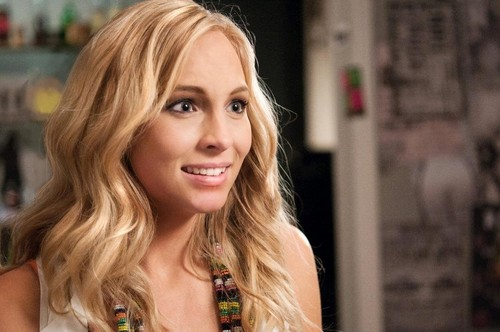 "New stills of Candice in ""Dating Rules from My Future Self"" as Chloe Cunningham."