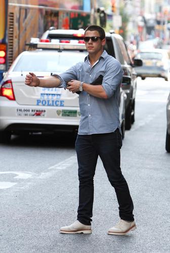 Nick Jonas July 8 Manhattan New York