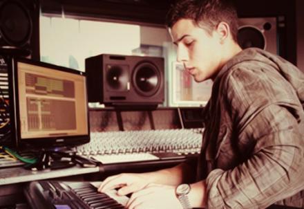Nick Jonas wallpaper entitled Nick Jonas in the studio