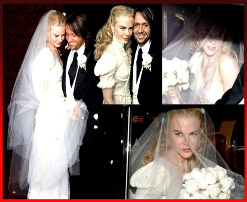 Celebrity Weddings Wallpaper Probably Containing A Bridesmaid And Business Suit Enled Nicole Kidman Keith