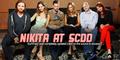 Nikita cast Comic Con 2012