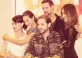 Nikita cast Comic Con 2012 - shane-west-and-maggie-q photo