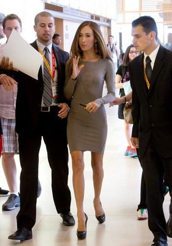 Nikita cast at Comic Con 2012