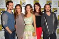 Nikita cast at Comic Con 2012 - shane-west-and-maggie-q photo