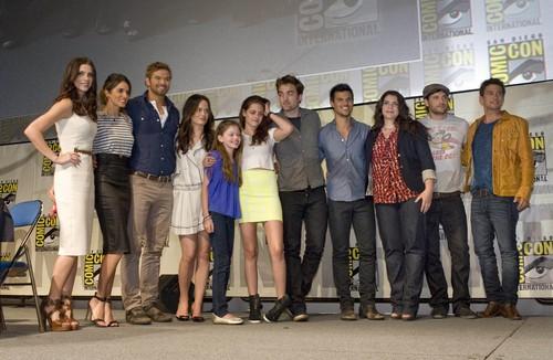"Nikki at Comic Con 2012 - ""Twilight Saga: Breaking Dawn - Part 2"" panel {12/07/12}"