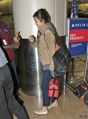 Nina @ LAX Airport on Sunday (July 8)