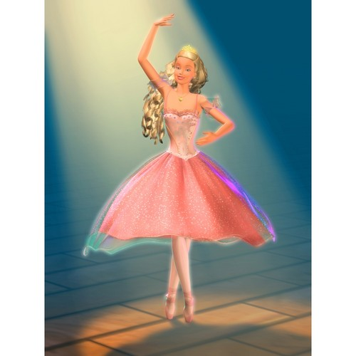 Barbie in the Nutcracker achtergrond possibly containing a polonaise called Nutcracker official still