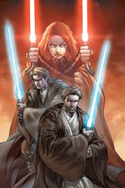 Obi Wan and Ventress