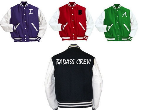 Young Justice OC'S!!! 壁纸 entitled Offical Badass Crew Jackets