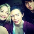 Olivia,Alex,and Munro - munro-chambers photo