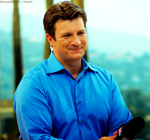 Our Amazing Nathan Fillion - castle Photo