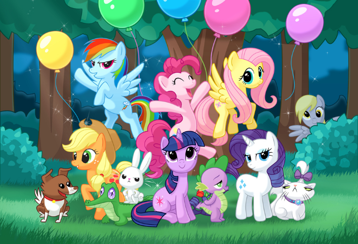 Party at the everfree forest