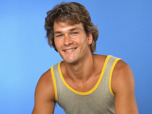Patrick Swayze wallpaper with a tennis player and a tennis pro titled Patrick Swayze