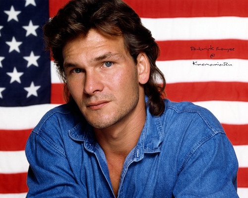 Patrick Swayze wallpaper possibly with a portrait entitled Patrick Swayze