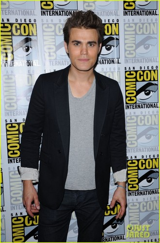 Paul Wesley attend  Comic-Con Panel