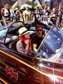Paul and Torrey on Bat Mobile at Comic Con (july 14th, 2012)