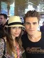 Paul and Torrey on the TV Guide Yacht at Comic Con (July 14th, 2012)