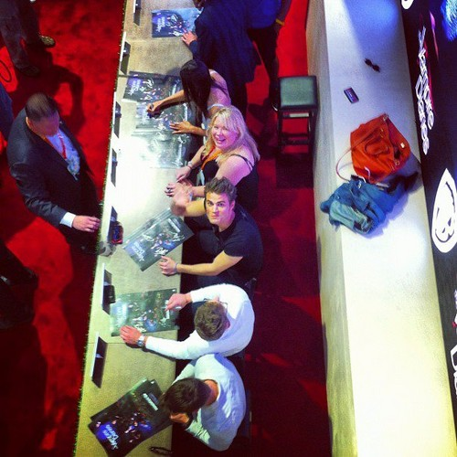 Paul at Comic Con 2012