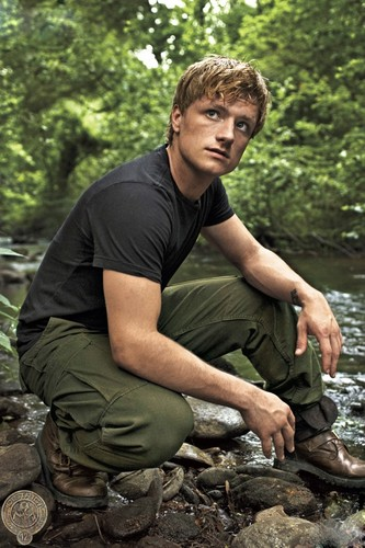 Peeta Mellark वॉलपेपर possibly containing a flathead catfish and a cassava entitled Peeta In The Hunger Games