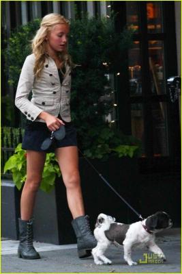 Peyton with dog, Windsor
