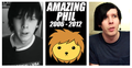 Phil Before After - amazing-phil fan art