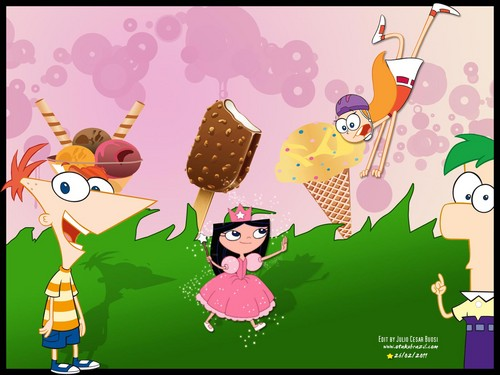 Phineas & Ferb - phineas-and-ferb Wallpaper