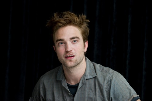 "Photos of Rob at the ""Twilight Saga: Breaking Dawn, part 2"" press conference at SDCC 2012 ."