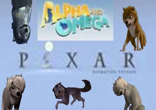 Pixar Alpha and Omega
