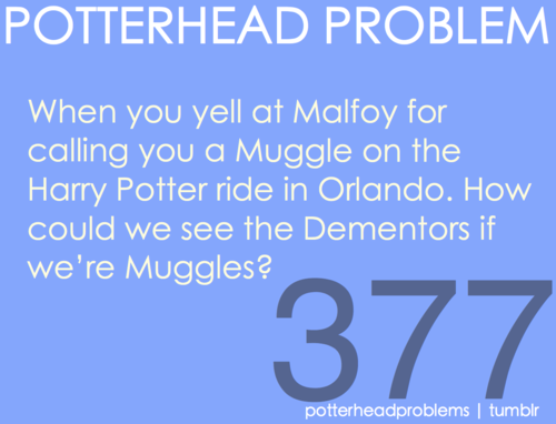 Potterhead problems 361-380