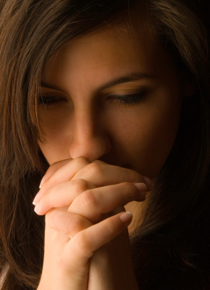 Praying for my ángel sister