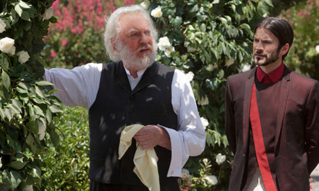 President Snow and his Garden
