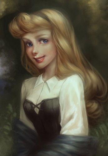 Princess Aurora - disney-princess Fan Art