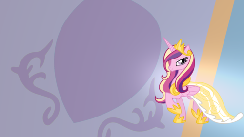 Princess Cadence achtergrond