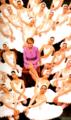 Princess Diana and the ballerinas