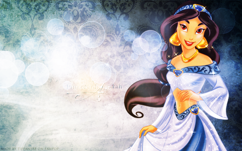 Princess Jasmine ~  - disney-princess Wallpaper