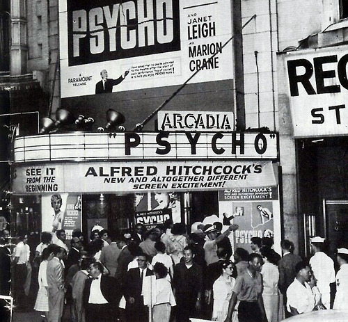 Psycho wallpaper with a multiplex, a diner, and a cinema called Psycho
