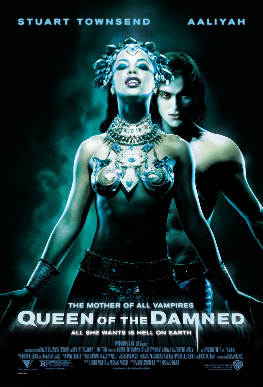 free queen of the damned movie