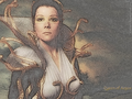 Queen of Argos - diana-rigg wallpaper