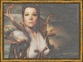 Queen of Argos (framed) - diana-rigg wallpaper